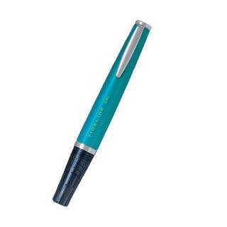 パイロット ゲルインキボールペン タイムラインゲル ピーコックグリーン LTL−3SR−PG