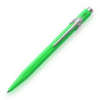 カランダッシュ ボールペン 849 ポップライン 蛍光色 蛍光グリーン NF0849−730