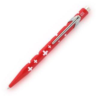 カランダッシュ ボールペン 849 ポップライン トータリースイス スイスフラッグ NF0849−253