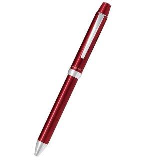 パイロット 複合筆記具(ボールペン黒0.7mm・赤・青・緑)リッジ ボルドー BKTR−5SR−BO