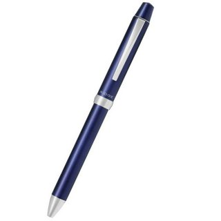 パイロット 複合筆記具(ボールペン黒0.7mm・赤・青・シャープ0.5mm)スリープラスワンリッジ ダークブルー BTHRT5SR−DL