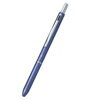 パイロット 複合筆記具(ボールペン黒0.7mm・赤・シャープ0.5mm)ツープラスワンスリム ブルー BKH−2SR−L