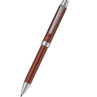 パイロット 複合筆記具(ボールペン黒0.7mm・赤・シャープ0.5mm)ツープラスワン エボルト ドットブラウン BTHE−150R−DBN