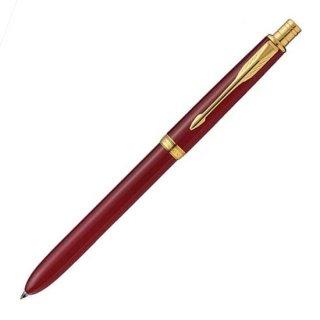 パーカー 複合筆記具(ボールペン黒F・赤・シャープ0.5mm)ソネット オリジナル マルチファンクション レッドGT S111306220