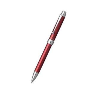 プラチナ万年筆 複合筆記具(ボールペン黒・赤・青・シャープ0.5mm)ダブル4アクション エンジ MWB−3000F