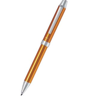 パイロット 複合筆記具(ボールペン黒0.7mm・赤・シャープ0.5mm)ツープラスワン エボルト オレンジ BTHE−1SR−O