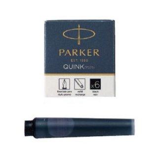 パーカー カートリッジインク クインク・ミニカートリッジ ブラック 6本入り 1950407