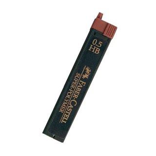 ファーバーカステル ペンシル替芯 0.5mm HB 12本入 120500