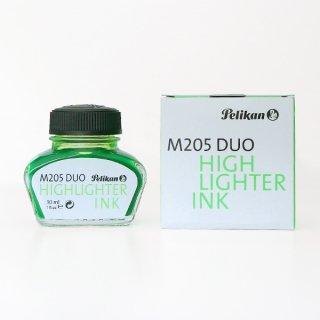 ペリカン ボトルインク ハイライターインク M205DUO用 蛍光グリーン