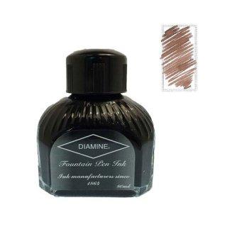 ダイアミン ボトルインク 万年筆用水性染料インク 018 サドルブラウン