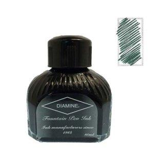 ダイアミン ボトルインク 万年筆用水性染料インク 076 グリーン/ブラック