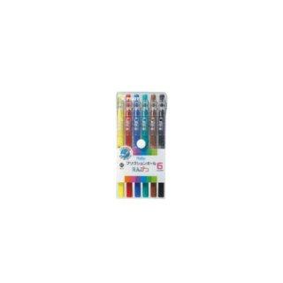 パイロット フリクション(ボールペン) フリクションボールえんぴつ 6色セット LFP−78FN−6C