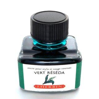 エルバン ボトルインク トラディショナルインク 30ml VERT RESEDA /モクセイソウグリーン 13038