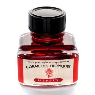 エルバン ボトルインク トラディショナルインク 30ml CORAIL DES TROPIQUES /トロピカルコーラル 13059