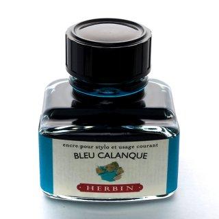 エルバン ボトルインク トラディショナルインク 30ml BLEU CALANQUE /カランクブルー 13014