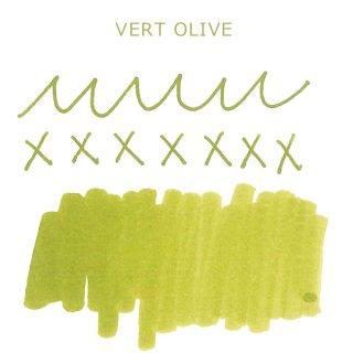 エルバン ボトルインク トラディショナルインク 10ml VERT OLIVE /オリーブグリーン 11536