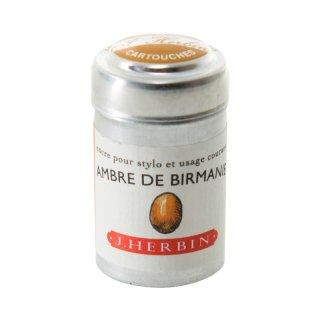 エルバン カートリッジインク トラディショナルインク  AMBRE DE BIRMANIE /ビルマの琥珀 20141