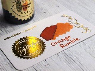 ロバートオスター ボトルインク オレンジ ランブル RO-50655