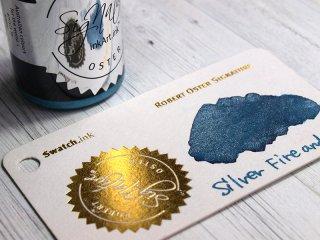 ロバートオスター ボトルインク シェイク アンド シミ— シルバー ファイア&アイス RO-15122