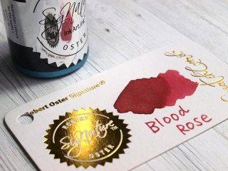 ロバートオスター ボトルインク シェイク アンド シミ— ブラッド ローズ RO-15535