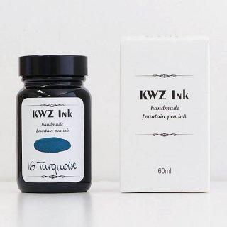 KWZ カウゼット 没食子 ボトルインク レジストラーズインク IGターコイズ 1107