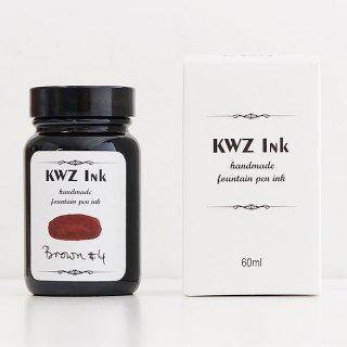 KWZ カウゼット インク ボトルインク ブラウン#4 4604