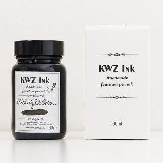 KWZ カウゼット インク ボトルインク ミッドナイトグリーン 4703