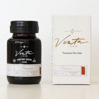 vintainks ヴィンタインクス ボトルインク シーンインク ヘリテージブラウン N06