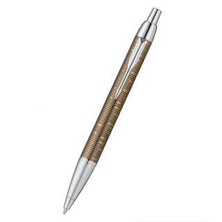 パーカー ボールペン IM プレミアム メタリックストライプコレクション ブラウンシャドウCT 1906784