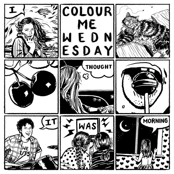 Colour Me Wednesday / I Thought It Was Morning