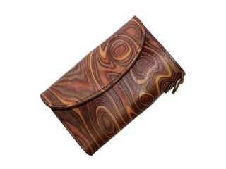 【MAGNET】 Three Fold Wallet (WOOD BROWN)