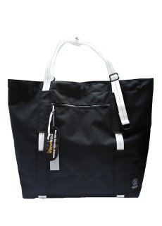 【 INFLUENCE × EDELWEIS 】 Gear Tote (Black)