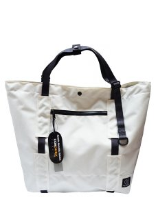 【 INFLUENCE × EDELWEIS 】 Gear Tote (White)