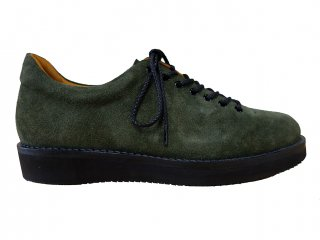 <img class='new_mark_img1' src='//img.shop-pro.jp/img/new/icons8.gif' style='border:none;display:inline;margin:0px;padding:0px;width:auto;' />【REPLANT】Suede Mountain Boots Low (GREEN)