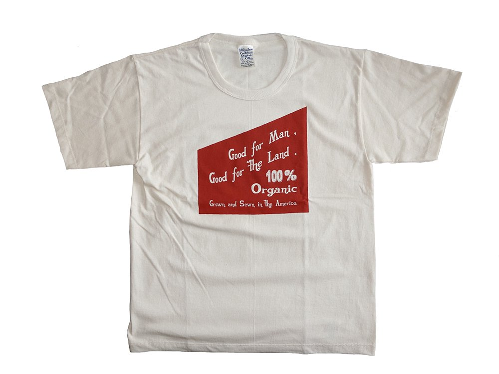 【Save Our Soil 】  S.O.S Print T-SHIRT (GOOD FOR MAN)
