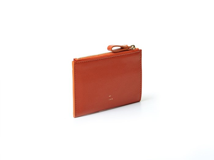 【osoi】MIGNON compact half wallet (Orange)