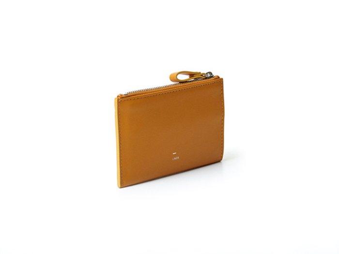 【osoi】MIGNON compact half wallet (Mustard)
