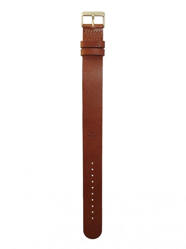 【TID】ベルト Tan Leather (Gold)