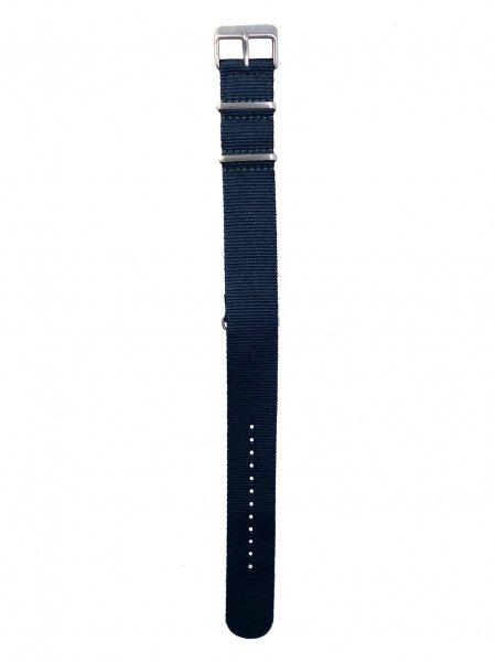 【TID】ベルト No.1シリーズ Blue NATO  (Silver)
