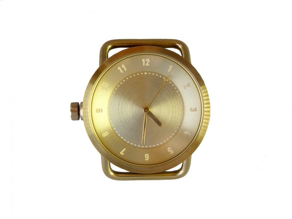【TID】 No.1シリーズ 40mm GOLD case (Gold)