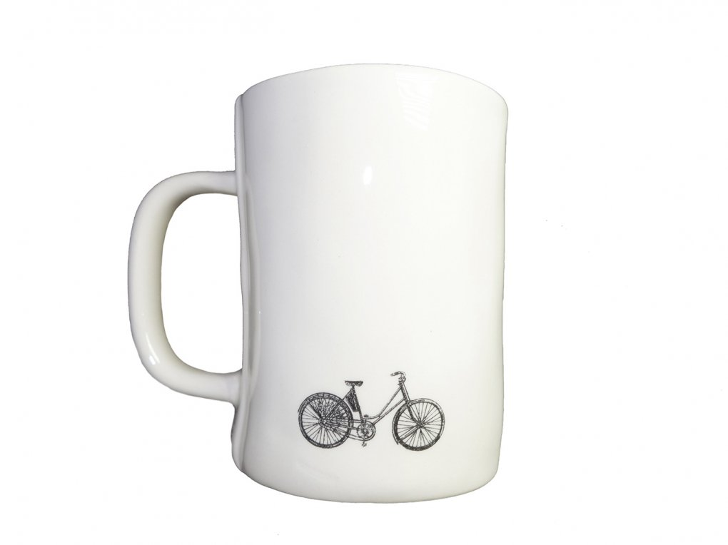 【RAE DUNN(レイ・ダン)】Bike Mug (CYCLE)