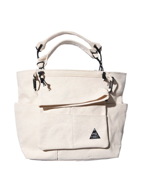 【BELLWOODMADE】DEFO WITH TOTE (WHITE)