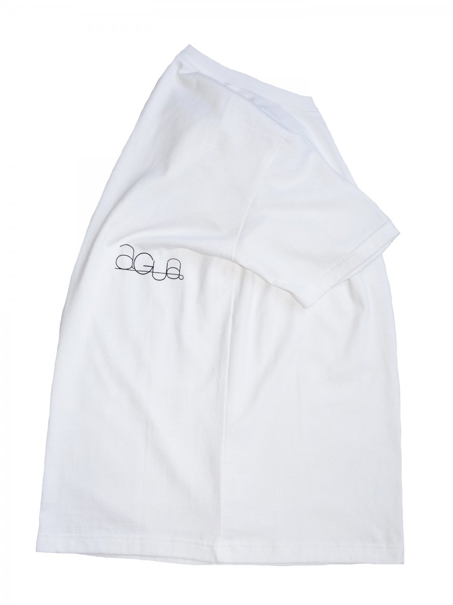【Cielo:シエロ】  agua Original  Ultimate Pima T-shirt (WHITE)