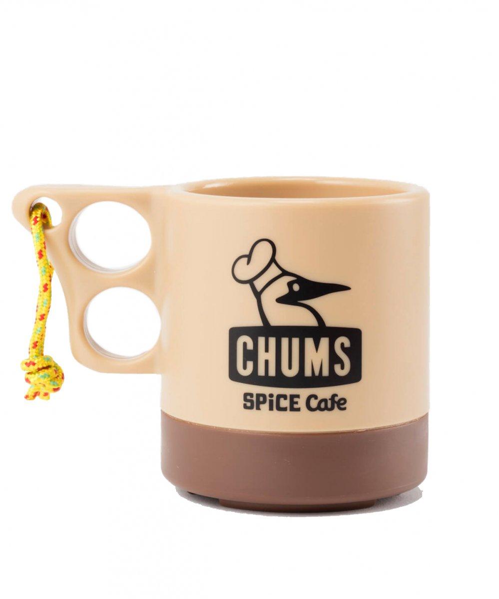 【SPICE Cafe×CHUMS】 Camper Mug (Beige/Brown)