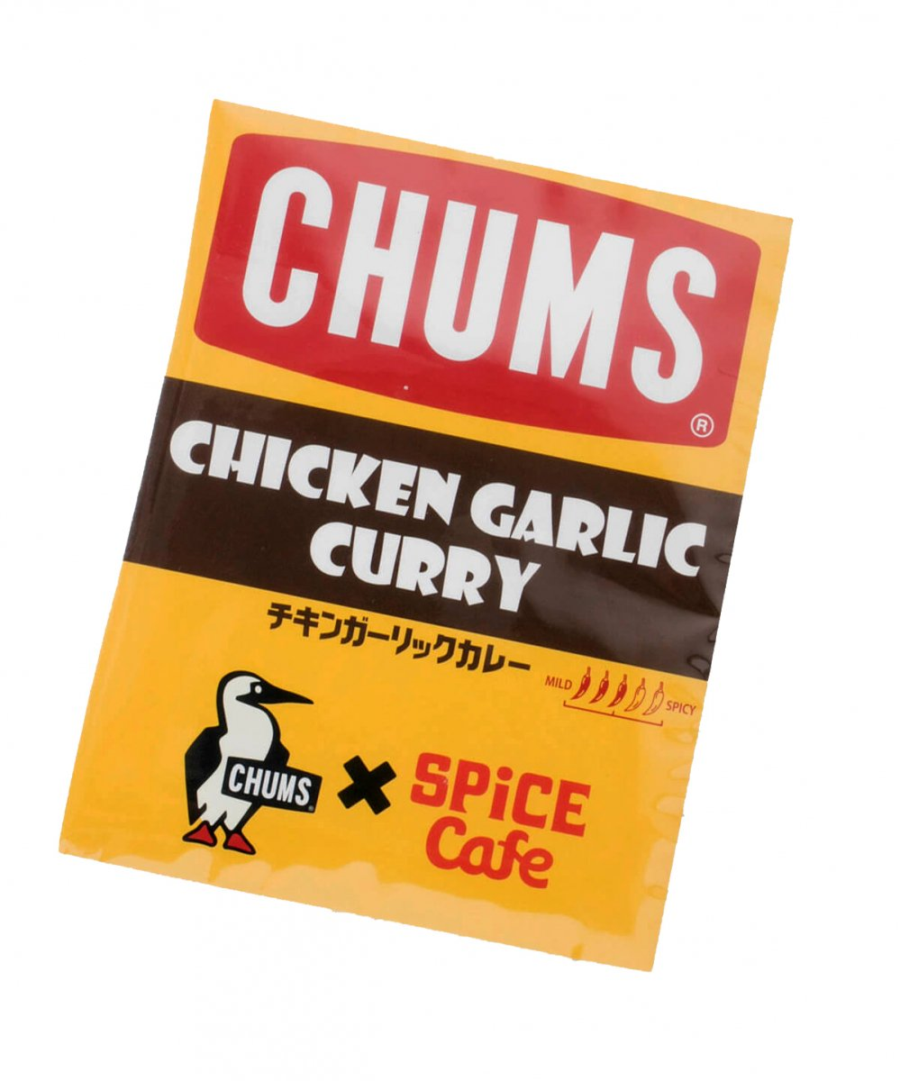 【SPICE Cafe×CHUMS】 Chicken Garlic Curry
