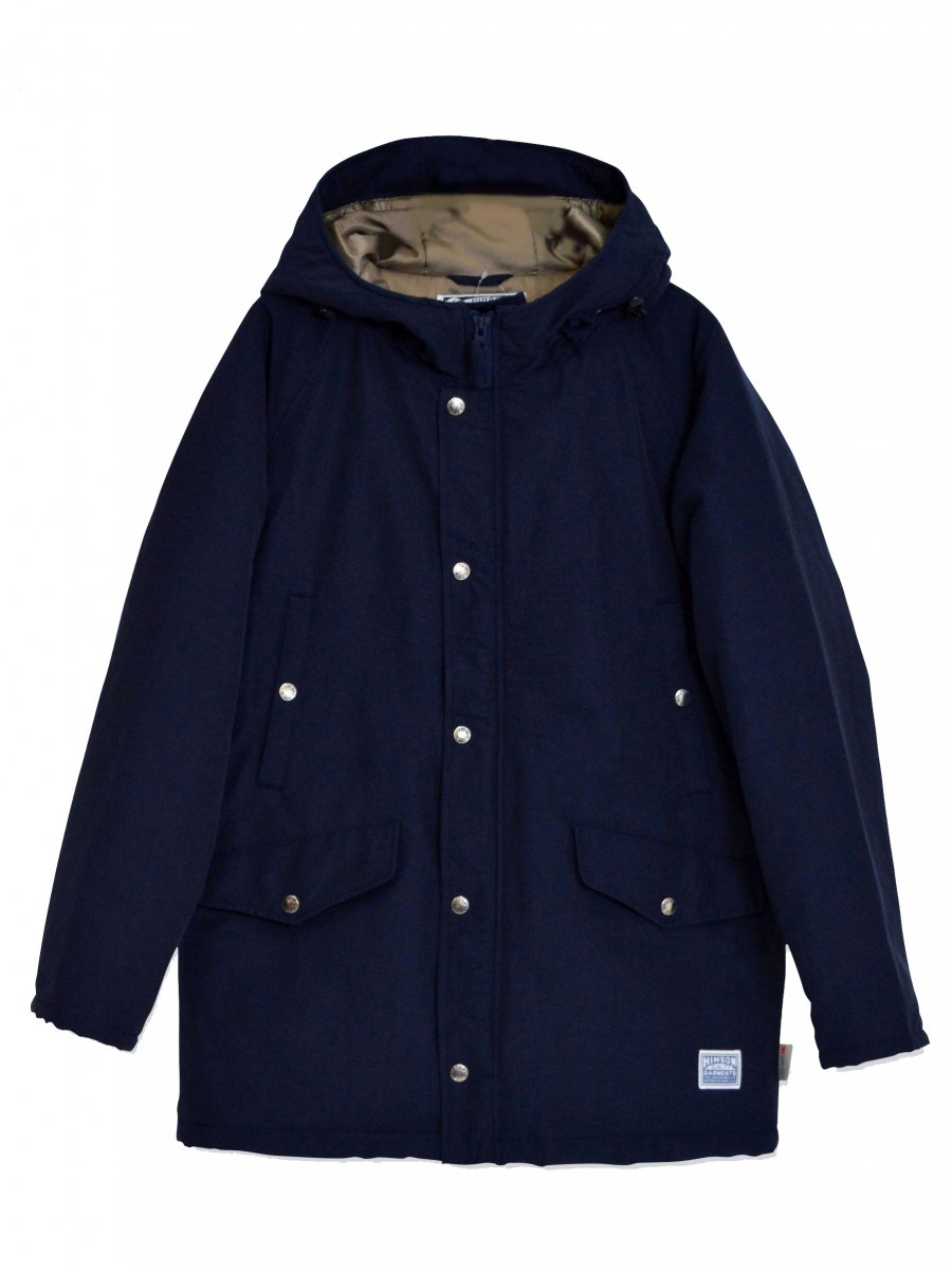 【SONTAKU】 Mountain parka with classic cotton (NAVY)