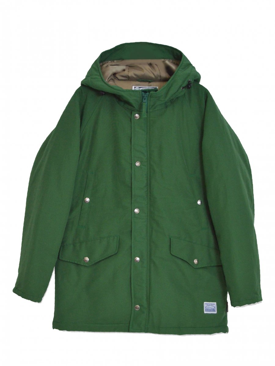 【SONTAKU】 Mountain parka with classic cotton (GREEN)