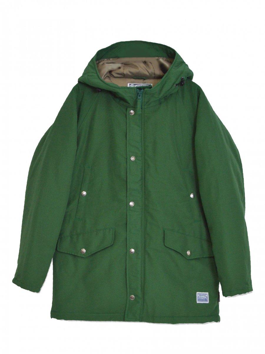 【SONTAKU】 Mountain parka with classic cotton (GREEN)