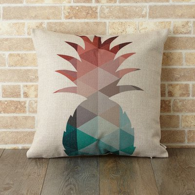 【 Jubilee London 】Cushion -Geo Pineapple-
