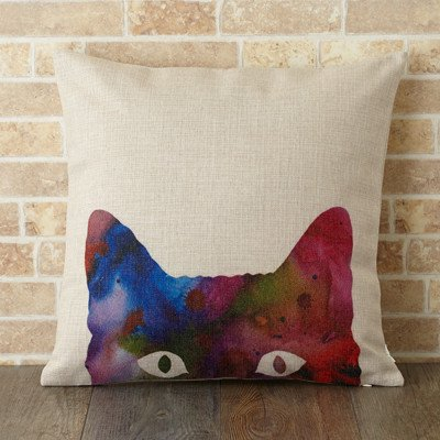 【 Jubilee London 】Cushion -Cat lookin-